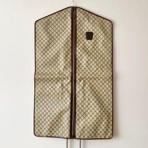 Authentic Gucci Vintage GG Logo Garment Bag